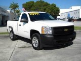 2008 Summit White Chevrolet Silverado 1500 Work Truck Regular Cab #70540380