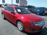 2010 Red Candy Metallic Ford Fusion SE #70540295