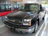 2003 Black Chevrolet Silverado 1500 Regular Cab #70540410