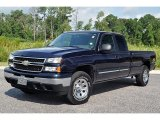 2006 Dark Blue Metallic Chevrolet Silverado 1500 LT Extended Cab 4x4 #70562032