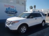 2013 Oxford White Ford Explorer FWD #70561956