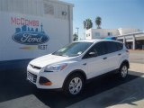 2013 Oxford White Ford Escape S #70561955