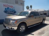 2012 Pale Adobe Metallic Ford F150 XLT SuperCrew #70561953