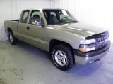 2002 Light Pewter Metallic Chevrolet Silverado 1500 Extended Cab 4x4 #70570341