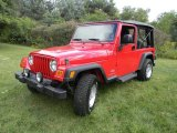 2006 Flame Red Jeep Wrangler Unlimited 4x4 #70570338