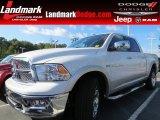 2012 Bright White Dodge Ram 1500 Laramie Crew Cab 4x4 #70570080