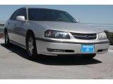 2001 Galaxy Silver Metallic Chevrolet Impala LS #70570558
