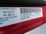 2013 Challenger Color Code for Redline 3-Coat Pearl - Color Code: PRY