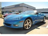 2008 Jetstream Blue Metallic Chevrolet Corvette Convertible #70570015