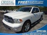 2010 Stone White Dodge Ram 1500 Big Horn Crew Cab #70570424