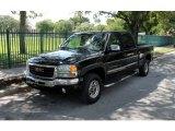 2005 Onyx Black GMC Sierra 1500 SLE Crew Cab #70570151