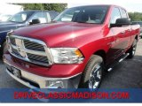 2012 Deep Cherry Red Crystal Pearl Dodge Ram 1500 Big Horn Quad Cab 4x4 #70570376