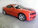 2010 Inferno Orange Metallic Chevrolet Camaro SS Coupe #70570343