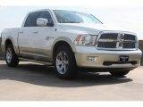 2011 Bright White Dodge Ram 1500 Laramie Longhorn Crew Cab 4x4 #70618480