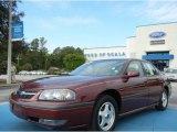 2001 Dark Carmine Red Metallic Chevrolet Impala LS #70617803