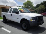 2003 Oxford White Ford F250 Super Duty XL SuperCab 4x4 #70618425