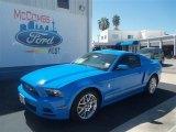 2013 Grabber Blue Ford Mustang V6 Premium Coupe #70617727