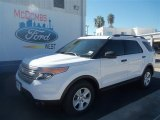 2013 Oxford White Ford Explorer FWD #70617723