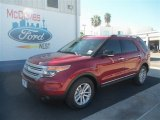 2013 Ruby Red Metallic Ford Explorer XLT #70617721