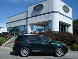 2013 Green Gem Metallic Ford Explorer Limited #70617681