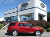2013 Ruby Red Metallic Ford Explorer XLT 4WD #70617678