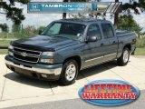 2007 Blue Granite Metallic Chevrolet Silverado 1500 Classic LT Crew Cab #70618363