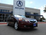 2010 Basque Red Pearl Acura TSX Sedan #70617659