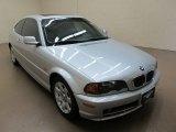 2001 Titanium Silver Metallic BMW 3 Series 325i Coupe #70617631