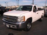 2012 Summit White Chevrolet Silverado 1500 LT Regular Cab 4x4 #70617618