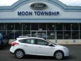 2012 Oxford White Ford Focus SE 5-Door #70617968