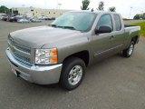 2013 Graystone Metallic Chevrolet Silverado 1500 LT Extended Cab #70618312