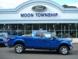 2012 Blue Flame Metallic Ford F150 XLT SuperCab 4x4 #70617963