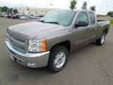 2013 Graystone Metallic Chevrolet Silverado 1500 LT Extended Cab 4x4 #70618308