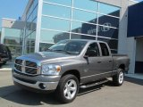 2008 Mineral Gray Metallic Dodge Ram 1500 Big Horn Edition Quad Cab 4x4 #70617584