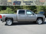 2013 Graystone Metallic Chevrolet Silverado 1500 LT Crew Cab 4x4 #70617928