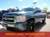 2009 Blue Granite Metallic Chevrolet Silverado 1500 LS Extended Cab #70618284
