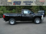 2013 Black Chevrolet Silverado 1500 LS Regular Cab 4x4 #70617923