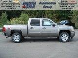 2013 Graystone Metallic Chevrolet Silverado 1500 LT Crew Cab 4x4 #70617911