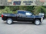 2013 Black Chevrolet Silverado 1500 LT Crew Cab 4x4 #70617909