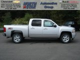 2013 Silver Ice Metallic Chevrolet Silverado 1500 LT Crew Cab 4x4 #70617908