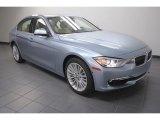 2013 Liquid Blue Metallic BMW 3 Series 328i Sedan #70687678