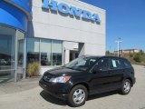 2010 Crystal Black Pearl Honda CR-V LX AWD #70687318