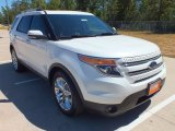 2013 White Platinum Tri-Coat Ford Explorer Limited #70687963