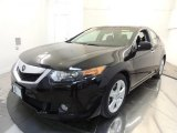2010 Crystal Black Pearl Acura TSX Sedan #70687958