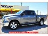 2010 Mineral Gray Metallic Dodge Ram 1500 SLT Quad Cab 4x4 #70687623