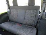 2012 Jeep Wrangler Sport S 4x4 Rear Seat
