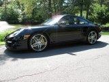 2008 Black Porsche 911 Turbo Coupe #70687241