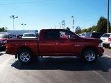 2009 Inferno Red Crystal Pearl Dodge Ram 1500 Laramie Crew Cab 4x4 #70687884