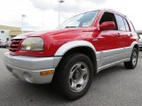 2005 Suzuki Grand Vitara Racy Red