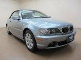 2005 Silver Grey Metallic BMW 3 Series 325i Convertible #70687148